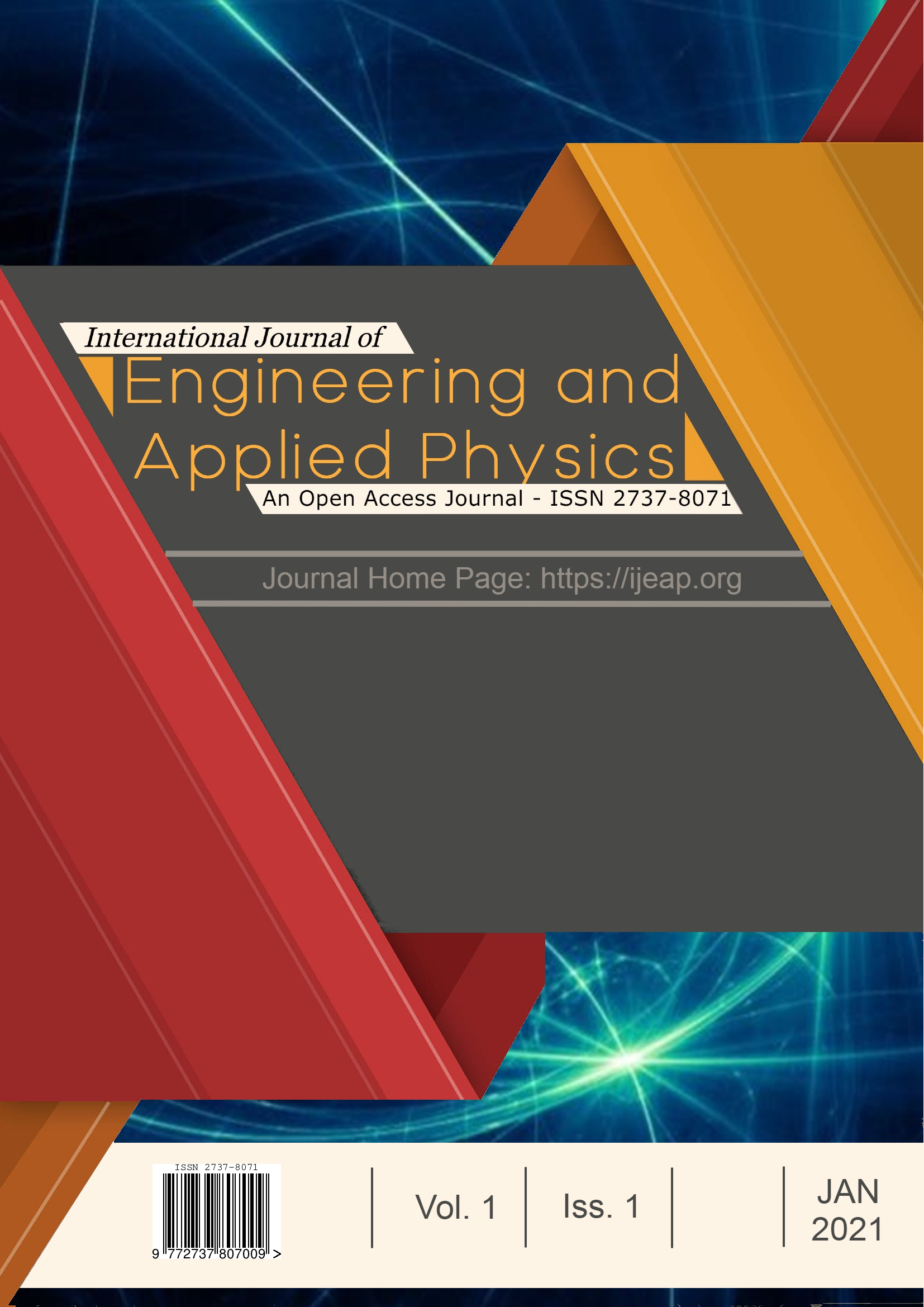 International Journal of Engineering and Applied Physics Cover